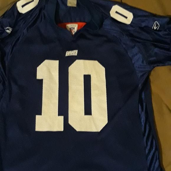 5075fe76 New York Giants Eli Manning NFL Equipment Jersey